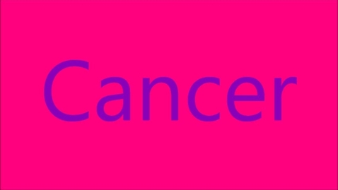Thumbnail for entry Cancer, the deadly diesease