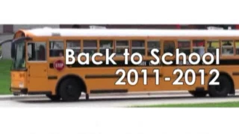 Thumbnail for entry Back to School 2011