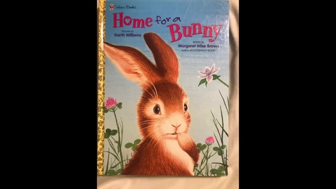 Thumbnail for entry Mrs. Harrell reads Home for a Bunny