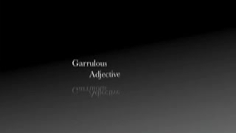 Thumbnail for entry garrulous--brainy flix video contest