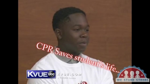 Thumbnail for entry CPR Training at North Shore 9th Grade