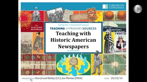 Thumbnail for entry Teaching with Primary Sources - Library of Congress
