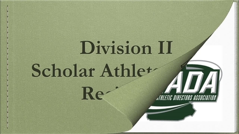 Thumbnail for entry NHIAA and NHADA Division II Awards 2020
