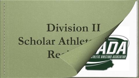 Thumbnail for entry NHIAA and NHADA Division II Awards 2020