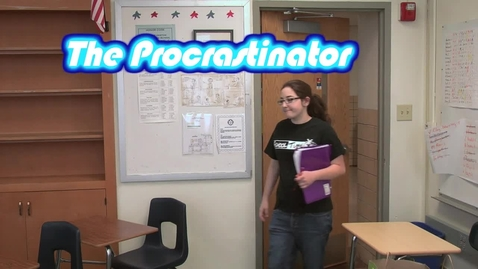 Thumbnail for entry The Procrastinator