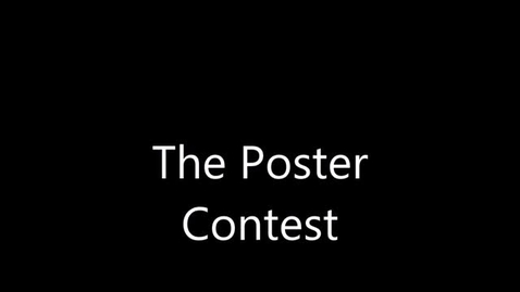 Thumbnail for entry Mrs. Ventresca's Class:  The Poster Contest