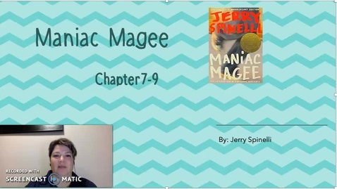 Thumbnail for entry Maniac Magee Ch 7