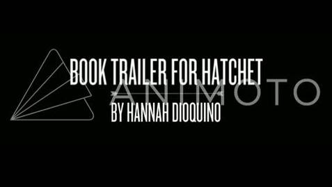 Thumbnail for entry Hatchet:Book Trailer
