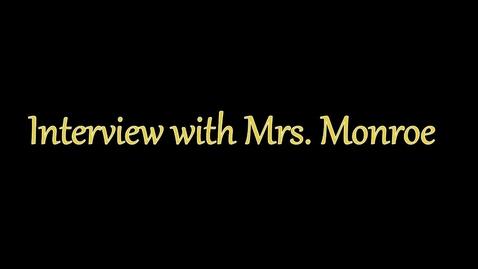 Thumbnail for entry Sandra Monroe