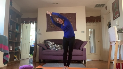 Thumbnail for entry Yoga Class with T.Sheena Week1 part A