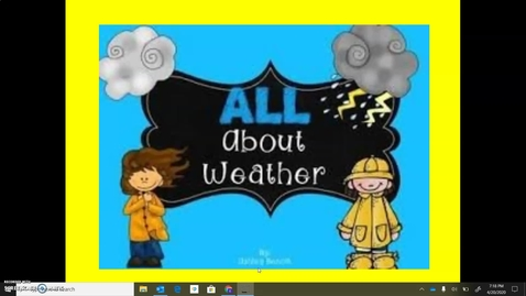 Thumbnail for entry All About Weather, Part 1
