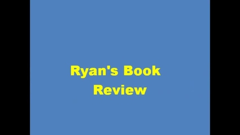 Thumbnail for entry 13-14 Linville Ryan's Book Review