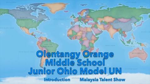 Thumbnail for entry Junior Ohio Model UN videos: 2015 Summit