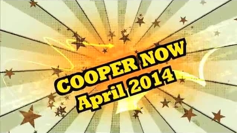 Thumbnail for entry APRIL 2014 COOPER NOW