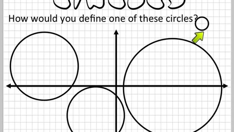 Thumbnail for entry How do you define a circle?