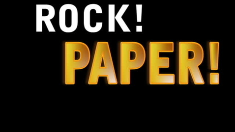 Thumbnail for entry Rock, Paper, Scissors
