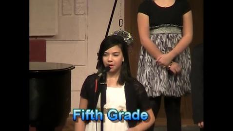 Thumbnail for entry Lena Fifth Grade