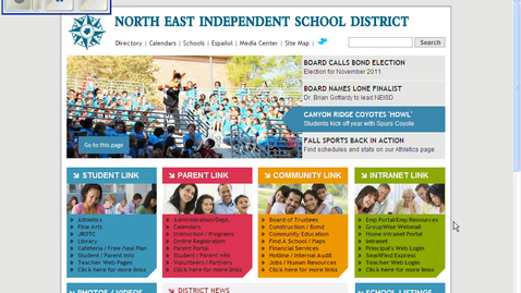 Thumbnail for entry Teacher Web and Parent Conferences