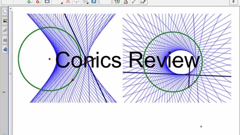 Thumbnail for entry Richard- Conic Review