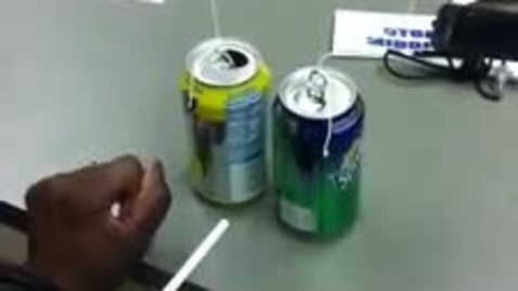 Thumbnail for entry Bernoulli Effect Using Coke Cans