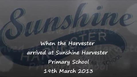 Thumbnail for entry Sunshine Harvester Delivery