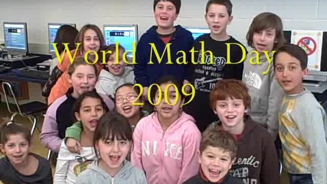 Thumbnail for entry World Math Day 2009