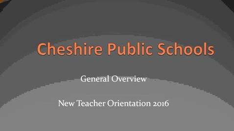 Thumbnail for entry New Teachers