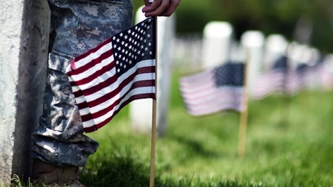 Thumbnail for entry Dr. Aubrey Jewett Talks About Memorial Day