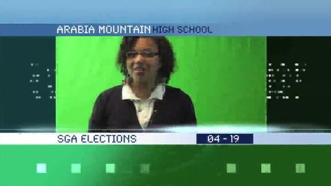 Thumbnail for entry Arabia Mountain HS SGA candidates