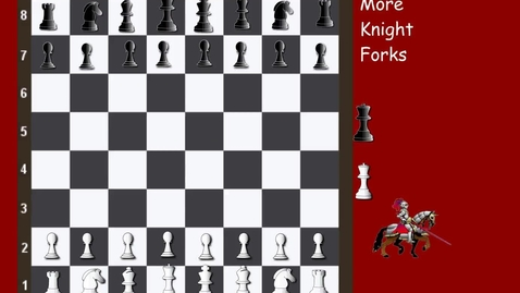 Thumbnail for entry Tricky Tactics 20 More Knight Forks