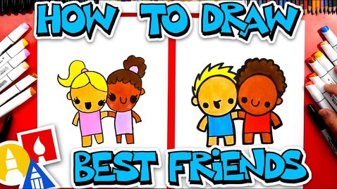 Thumbnail for entry How To Draw Best Friends