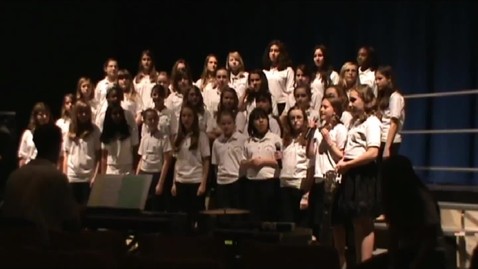 Thumbnail for entry Rolling in the Deep - Catonsville Middle Girl's Choir @ the Area Vocal Festival