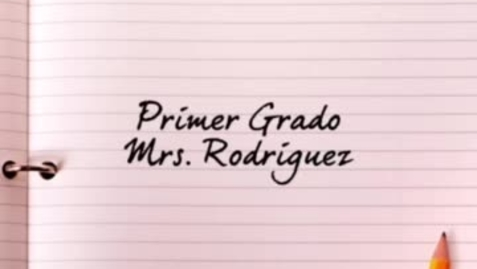 Thumbnail for entry Conoce a tu Maestra Mrs.Rodriguez/ Ms.Flores