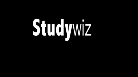 Thumbnail for entry Studywiz Burst:  Especially for ICT
