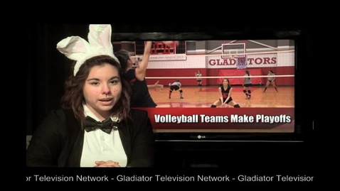 Thumbnail for entry Volleyball Teams Make Playoffs - Quick News