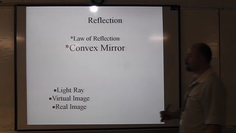 Thumbnail for entry Convex Mirror video notes