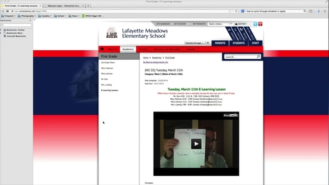 Thumbnail for entry Activity Finder in Compass Learning