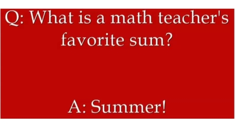 Thumbnail for entry T. Heather Remote Math Lesson # 14