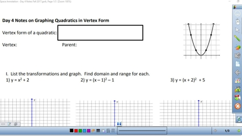 Thumbnail for entry Math 3 Unit 1 Day 4 Notes