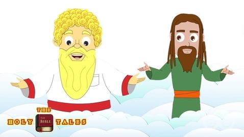 Thumbnail for entry Samuel Hears God Speak I The Book of Samuel I  Children's Bible Stories| Holy Tales Bible Stories