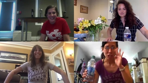 Thumbnail for entry Play Day Bottle Flip Challenge featuring T. Jill B, T. Michelle B, T. Mariko and T. Katie