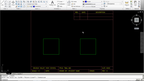 Thumbnail for entry Architectural Drawing Dimension Style Set-Up Video Tutorial (AutoCAD 2011)