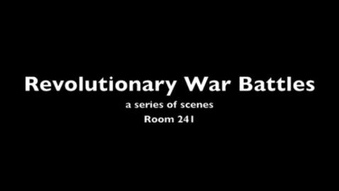 Thumbnail for entry Revolutionary War Battles