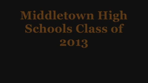 Thumbnail for entry Final Senior Video
