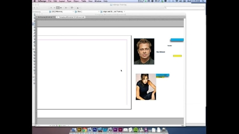 Thumbnail for entry Grouping In Indesign