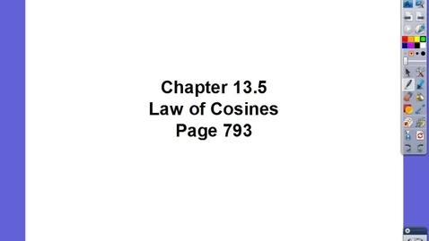 Thumbnail for entry Algebra II Ch 13.5