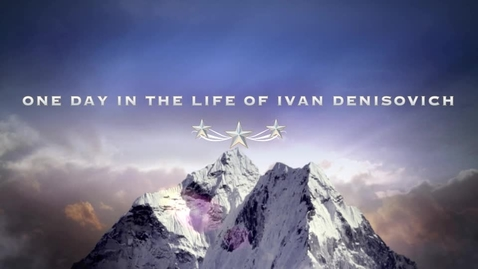 Thumbnail for entry One Day in the Life of Ivan Denisovich Book Trailer