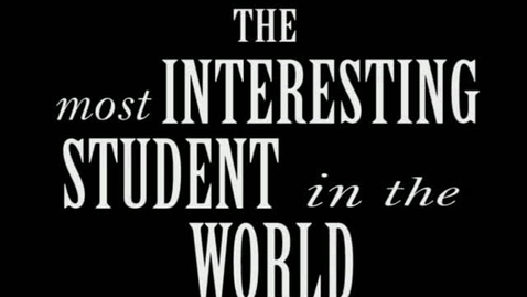 Thumbnail for entry The Most Interesting Student In The World on the TAKS Test