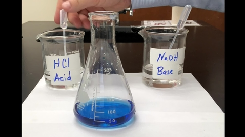 Thumbnail for entry Acid and Base Equilibrium Experiment
