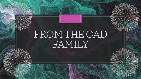 Thumbnail for entry From the CAD Family